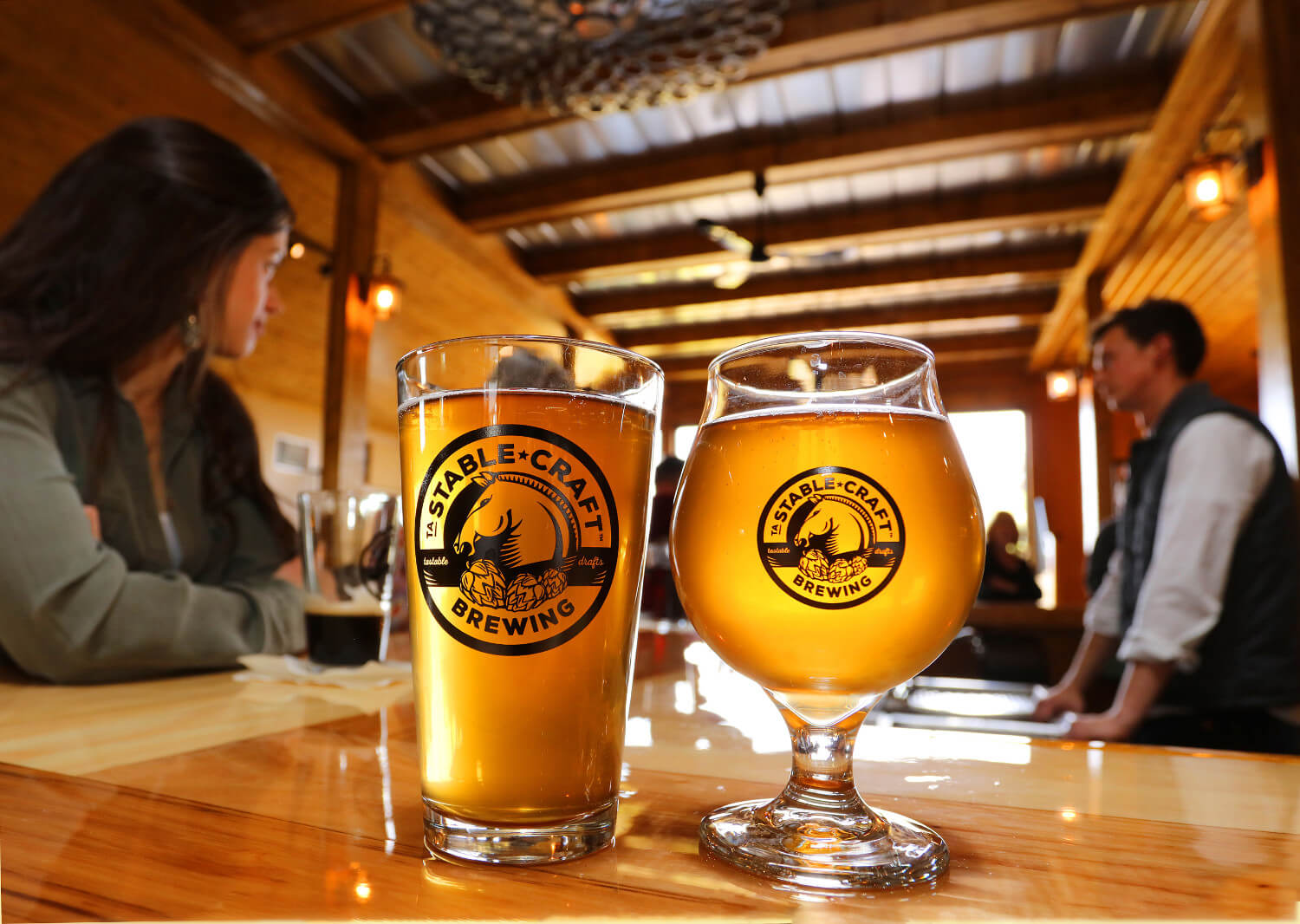 Stable craft brewing shenandoah beerwerks trail for Craft a brew fermenter